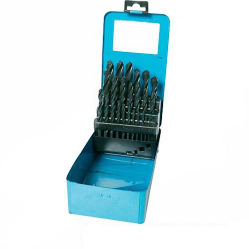 Silverline DS51 HSS Jobber Drill Bit Set, 1-13 mm - 25 Pieces