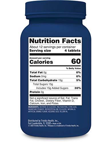 buy TRUEplus® Glucose Tablets, Orange – 50ct Blood Test Strips