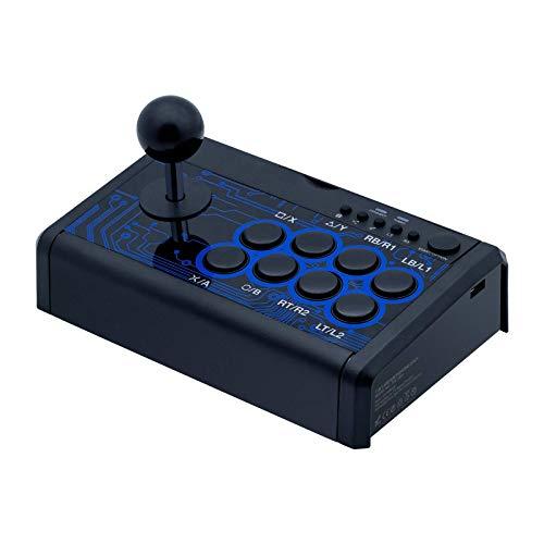 Shiwaki Fighting Game Joystick Fighting Arcade Handle Controller Compatibile con La Piattaforma 7