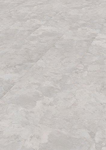 1 Paket (2,24 m²) PVC Bodenbelag / Vinylboden zum Klicken / HDF Klick / Vinyl Steindekor - Marmor