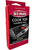 Weiman Cook Top Scrubbing Pads,3 Pads, 6 Count