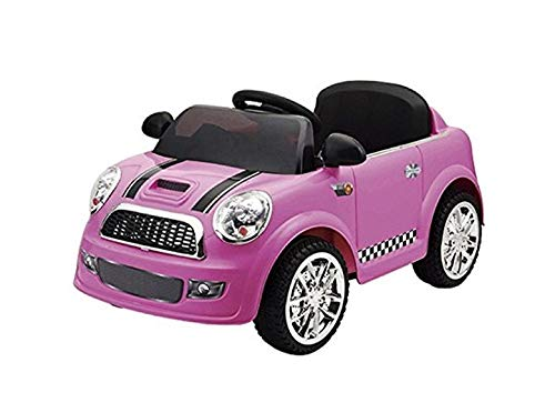 MARCA Mini Vehículo Batería 6V R/C Basic Rosa