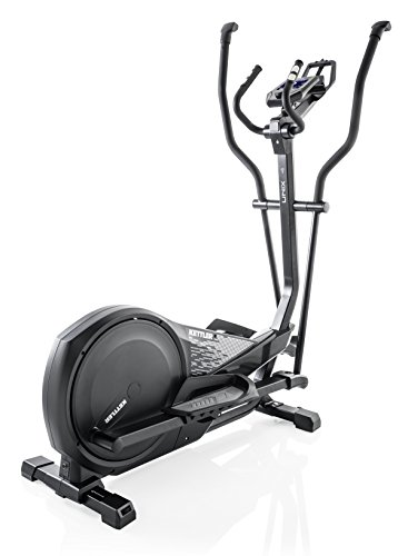 Kettler Unix 4 Magnetic Cross Trainer Black – Cross-Trainer (Magnetic Cross Trainer, 150 kg, Drive Disk/Ribbed Belt, Black, 39 cm, 19 cm)