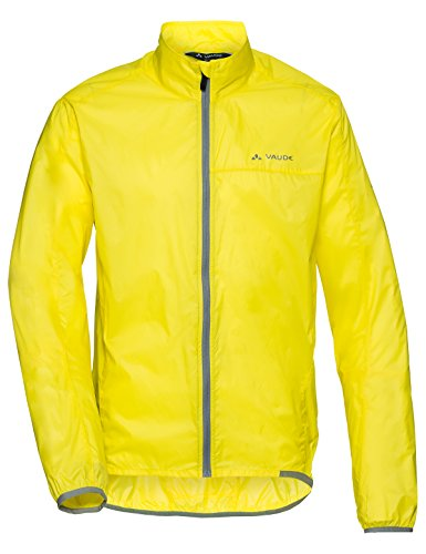 VAUDE Air III Veste coupe-vent Homme Canary FR : L (Taille Fabricant : L)
