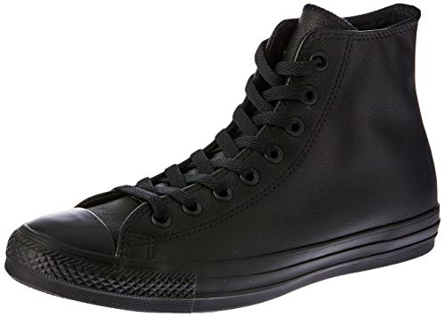 Converse Sneaker All Star Hi Canvas, Sneakers Unisex Adulto, Nero (Black Monochrome), 39.5 EU