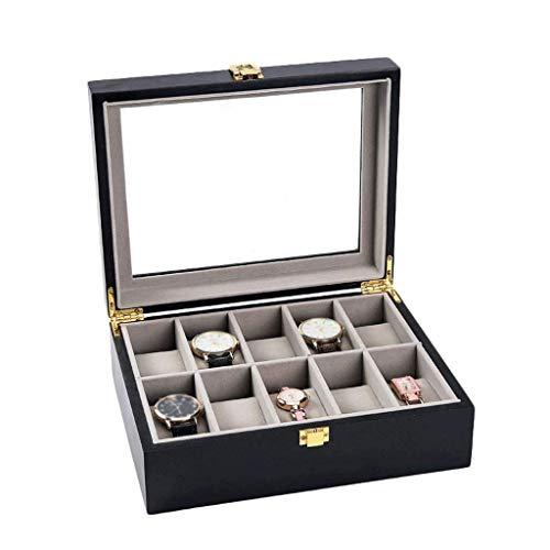 ADSE Caja de Reloj - lotes Vitrina de Reloj de Madera Colección...