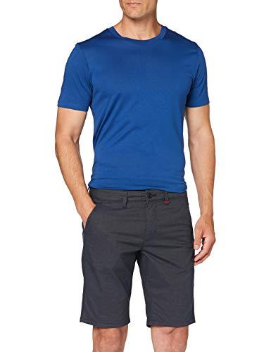 MAC Jeans Herren Lenny Bermuda Shorts, Blau (Midnight Blue 199), W36(Herstellergröße: 36/11)