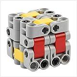 LinGo Cubo Mágico Mini Cubo De Bloques De Construcción De Bricolaje Abdominales No Tóxico E Insípido Puzzles Cube Presión Reducida Speed Cube para Navidad Regalo De Acción De Gracias Niños Adultos