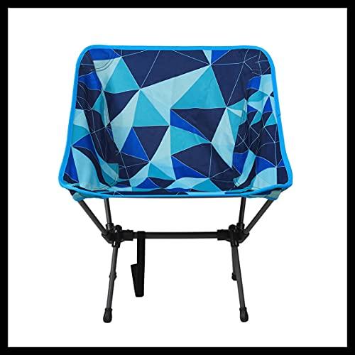 Portail extérieur Unisexe Maison Fusion Pliable Chaise de Camping, Multicolore, 52 x 32 x 35 cm