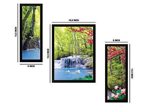 paintings villa Modern Art Painting (Synthetic, 35 cm x 50 cm x 2 cm)