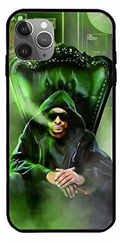 Custodia per telefono personalizzata compatibile con Snoop Samsung Dogg iPhone American 12/11 Rapper X Calvin XR Cordozar 7 Broadus Xiao mi Media Redmi Actor 9A Businessman 9 10 8 Pro Custodie TPU