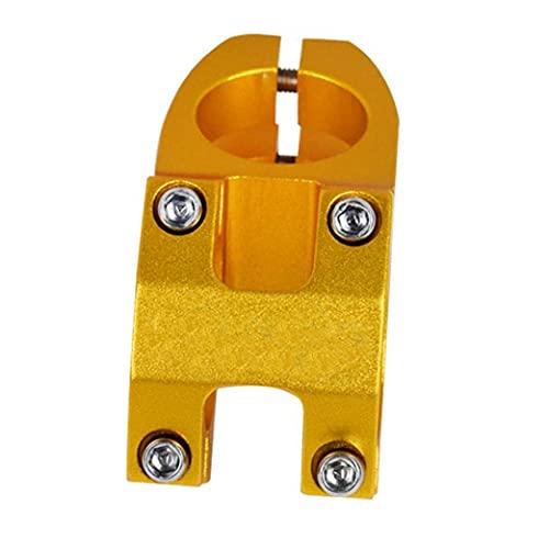 Short Mountain aleación de aluminio de 45 mm mango 31,8 mango, apto para la mayoría de las bicicletas, bicicletas de carretera, bicicletas de montaña, BMX, engranajes Fixie, accesorios para bicicletas