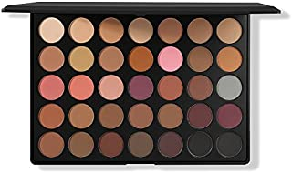 Morphe Pro 35 Color Eyeshadow Palette Matte 35N - Professional makeup powder palette with intense pigment