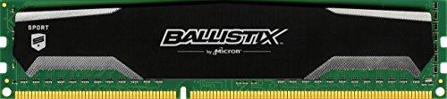 Ballistix Sport 4GB Single DDR3 1600 MT/s (PC3-12800) UDIMM 240-Pin Memory - BLS4G3D1609DS1S00