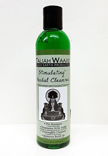 Taliah Waajid Black Earth Products Stimulating Herbal Cleanser, 8 Ounce
