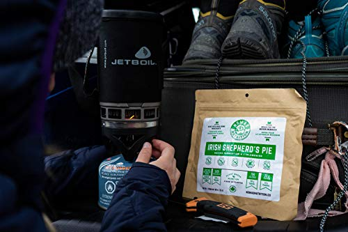 Nomad Nutrition Irish Shepherd's Pie - Plant Based, Protein Packed, Nutritious Dehydrated Meal for Camping, Travel, Adventure on the Go - 4oz