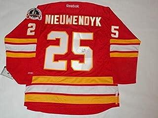 Signed Joe Nieuwendyk Jersey - 1989 Stanley Cup Proof Coa - JSA Certified - Autographed NHL Jerseys