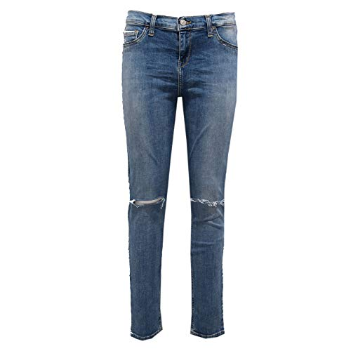 2796AB Pantalone Donna LTB Jeggings Blue Washed Denim Jeans Woman [31]