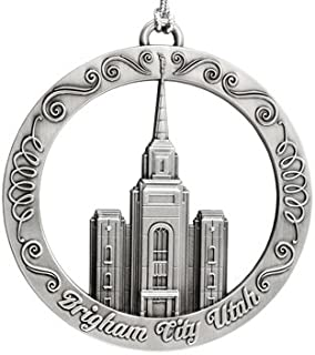 Ringmasters Brigham City Utah LDS Temple Ornament