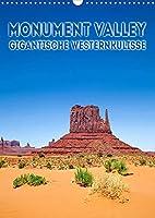 MONUMENT VALLEY Gigantische Westernkulisse (Wandkalender 2022 DIN A3 hoch): Fantastische Landschaft im Suedwesten der USA (Monatskalender, 14 Seiten )
