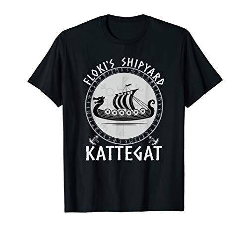 Vikings Floki der Schiffsbauer Kattegat Wikinger Shirt T-Shirt