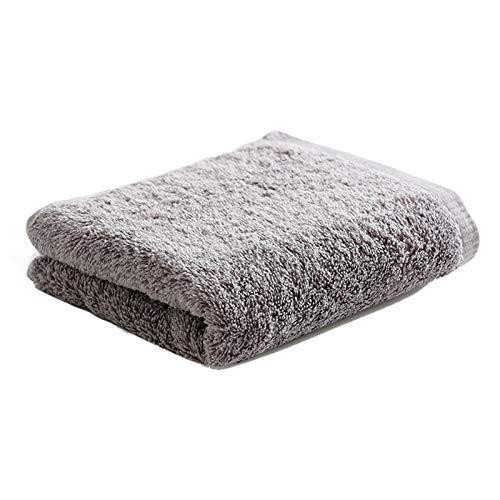 NAFE Mano Toallas de baño, 100% algodón de Secado rápido Toallas de Mano, 13.7X 29.1 Pulgadas, 6 Colores Grey