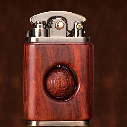 N-B Caja de Palisandro Creativa Encendedor de Gasolina de ba