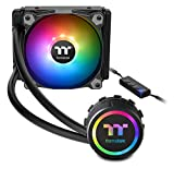 Thermaltake Water 3.0 ARGB Motherboard Sync Edition AMD/Intel LGA1200 Ready 120 All-in-One Liquid Cooling System 1x 120mm High Efficiency Radiator CPU Cooler CL-W232-PL12SW-A