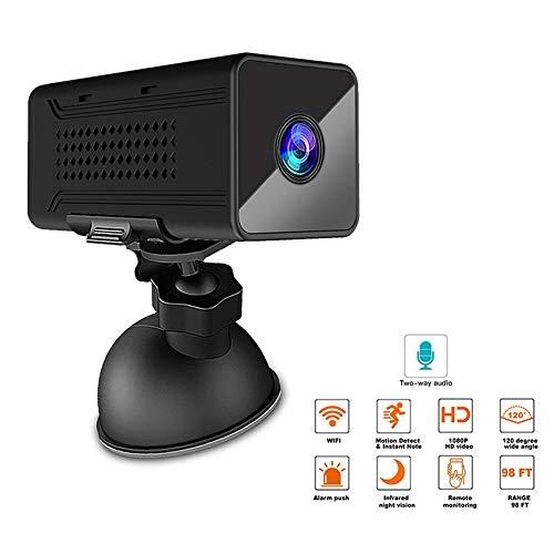 LQQZZZ Cámara IP, 1920P HD Remoto Sin Hilos del Bebé De Webcam 130 ° De Ángulo Amplio De Actividades De Detección De Movimiento De Alarma Función De Apoyo De 128 GB TF