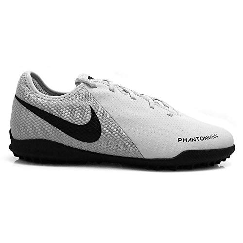 Nike JR Phantom VSN Academy TF, Zapatillas de fútbol Sala Unisex Adulto, Multicolor (Pure Platinum/Black/Lt Crimson/White 060), 38 EU