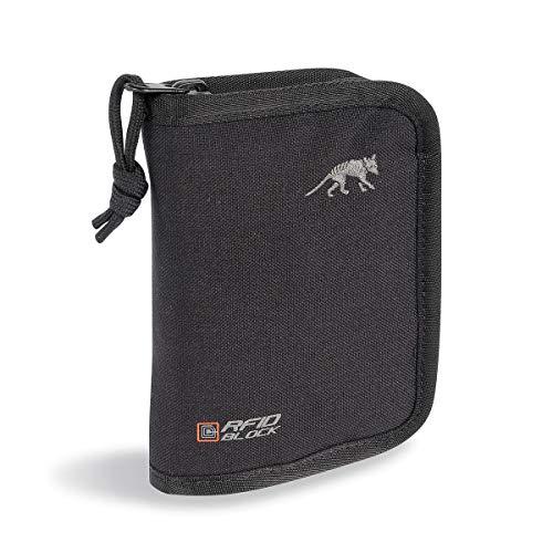 Tasmanian Tiger Geldbeutel TT Wallet RFID B TÜV geprüfte Brieftasche Ausleseschutz Geldbörse NFC Auslesesicher Portemonnaie Kreditkarten-Tasche, Black