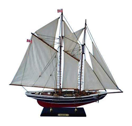 Hampton Nautical Bluenose Sailboat, Limited Edition, 24
