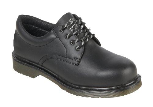 Parent Units Beaver 800 SB Uniform Shoe, Scarpe di Sicurezza Uomo, Nero (Schwarz), 35.5 EU