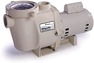 Pentair 011512 WhisperFlo High Performance Energy Efficient Single Speed Full Rated Pool Pump, 3/4 Horsepower, 115/208-230 Volt, 1 Phase