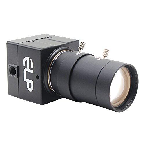 ELP 5-50mm Varifocal Lens 8Megapixel 4K USB Camera with Sony (1/3.2'') IMX179 8mp Webcam for Android Linux Windows Industrial Video