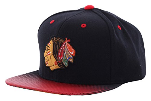 Mitchell & Ness Chicago Blackhawks Stop on A Dime Snapback Cap NZ57Z Basecap