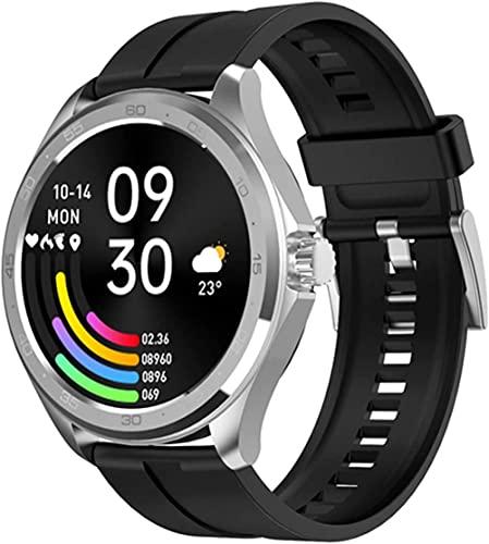 F10 Reloj Inteligente Hombres s Reloj Inteligente Android IOS Reloj Deportivo Hombres s Reloj Inteligente Fitness Reloj IP67 Impermeable-E