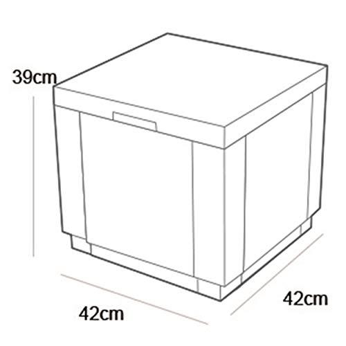 Allibert Beistelltisch/Kühlbox Ice Cube 40 Liter, graphit - 8