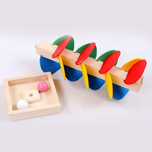 Gugutogo Juguete Educativo Montessori Árbol de Madera Marble...