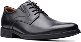 Clarks Whiddon Vibe Black Leather Men's Lace Up Shoes