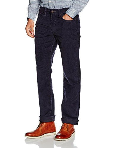 Levi\'s Herren 514 Regular Fit Straight Jeans, Nightwatch Blue 14w Cord Wt 0797, 36W / 32L