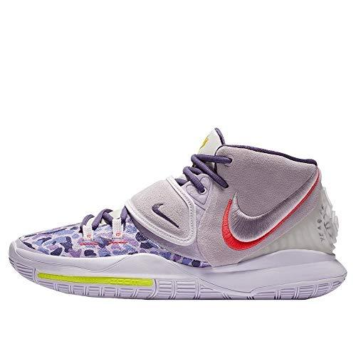 Nike Herren Basketballschuhe Kyrie 6 Asia Irving CD5031-500, (weiß-blau-violett), 44 EU