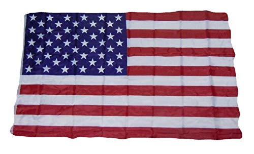 R&F srls Bandiera Stati Uniti USA Nazionale Tessuto Misura Standard 90 X 150 cm