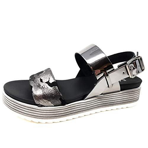 andiamo Damen Sandale in Mehrfarbig, Größe 40