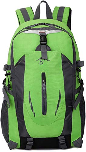 Mountaineering Backpack Outdoor 40L Double Shoulder Large Capacity Bag, Used for Outdoor Travel Sports Mountaineering 7 (Color : 5, Size : XX-Large)