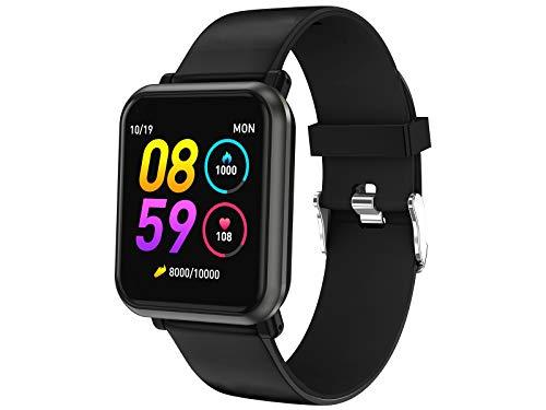 Trevi T-FIT 210 HB Smart Fitness Band Bracciale Cardio, Monitoraggio Sonno e Attività Fisica, Tecnologia PPG, Resistente All'Acqua IP67, Bluetooth, Batteria Ricaricabile, Nero