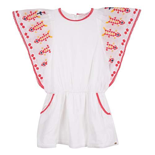 Lili Gaufrette Gn30102 Dress Vestido, Marfil (Écru 11), 5 años (Talla del Fabricante: 5A) para Niñas