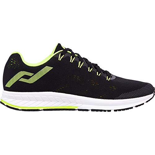 Pro Touch Herren OZ 2.1 Straßenlaufschuhe, Black/Yellow Light, 46 EU