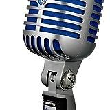 Shure SUPER 55 - Microfono Professionale Supercardioide Vintage per Voce,...