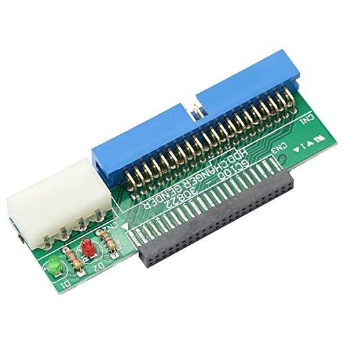 Honglei IDE 2,5 auf 3,5 Adapter, 44 Pin 2,5 Zoll IDE-Festplatte des Laptops auf 40 Pin IDE-Anschluss auf PC-Motherboard, HDD-Festplatte oder SSD auf PATA-Port-Anschlusskarte